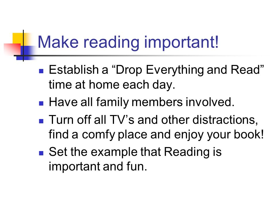 Explore reading together. Go to the library and look at different types of reading material.