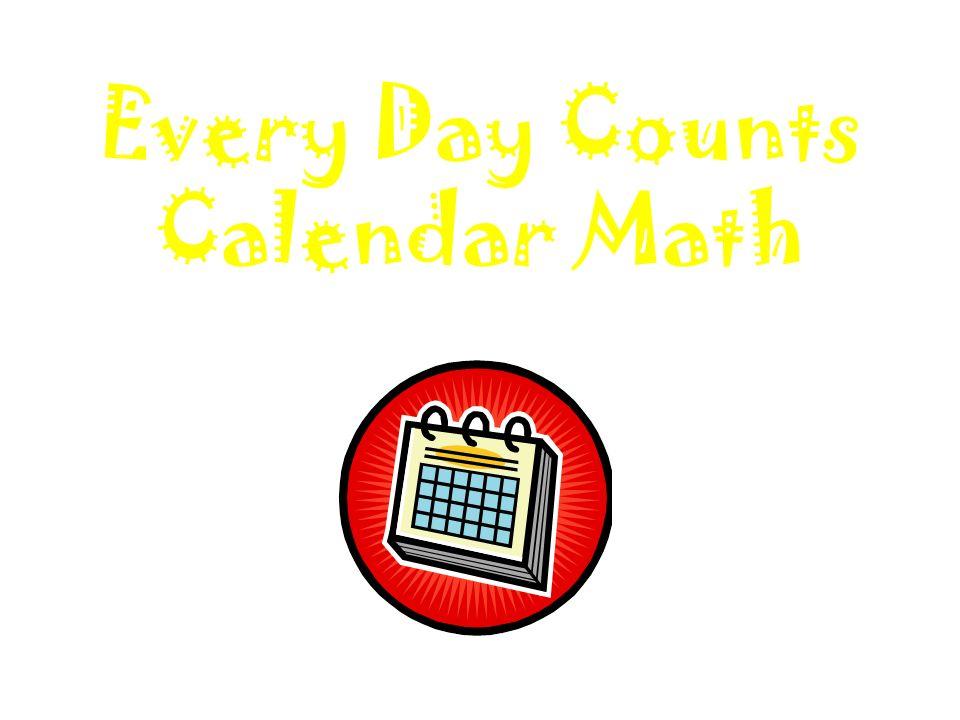 Every Day Counts Calendar Math