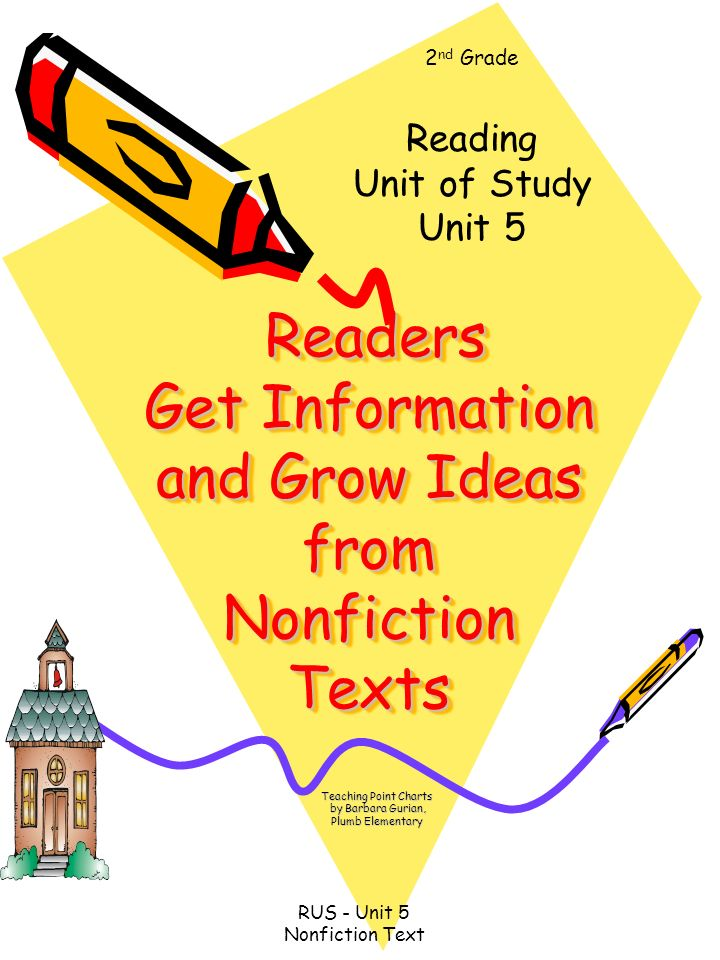 Readers Get Information and Grow Ideas from Nonfiction Texts Readers Get Information and Grow Ideas from Nonfiction Texts Teaching Point Charts by Bar
