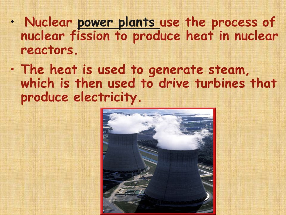 Nuclear Reactions Nuclear fission - splitting of a nucleus into fragments Heavy atoms (mass number > 60) BREAK into smaller atoms when struck by neutr