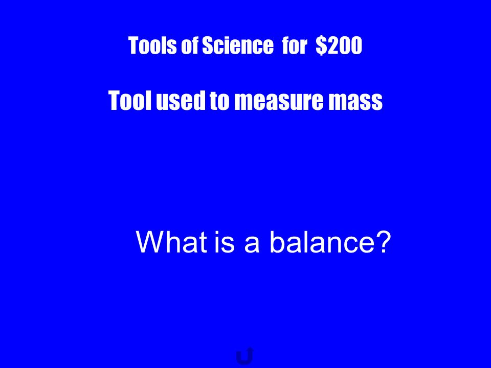 Tools of Science for $100 Metric unit used to measure mass What is a gram?