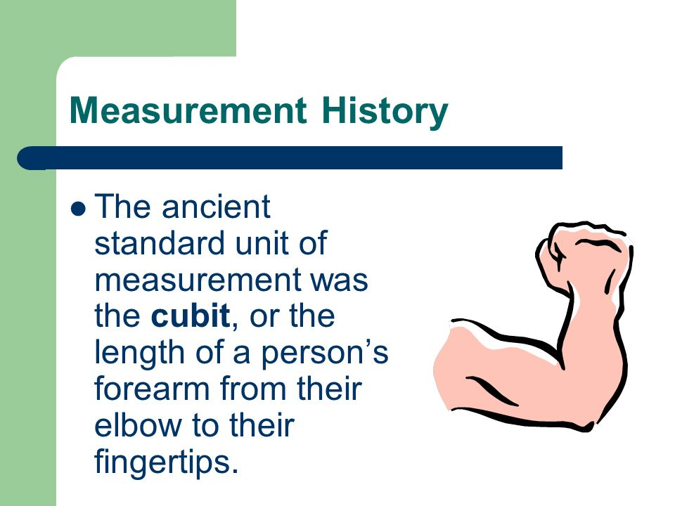 The Metric System The System of Measurement for Science