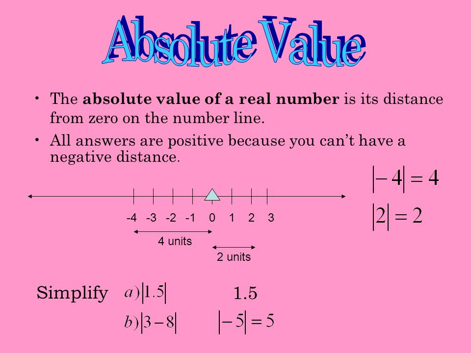 More properties of real numbers The opposite or additive inverse of any number a is –a. a) -3.2 b) 3/5 The reciprocal or multiplicative inverse of any