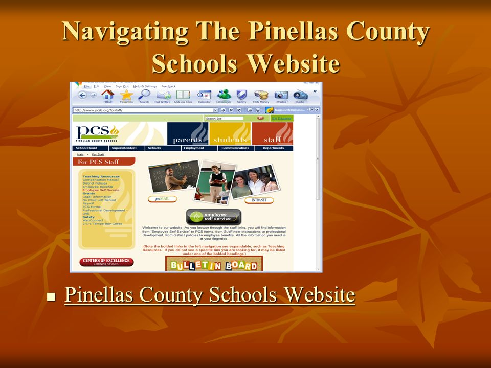 Navigating The Pinellas County Schools Website Pinellas County Schools Website Pinellas County Schools Website Pinellas County Schools Website Pinellas County Schools Website