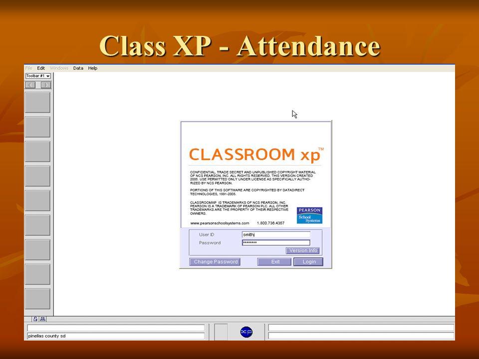 Class XP - Attendance