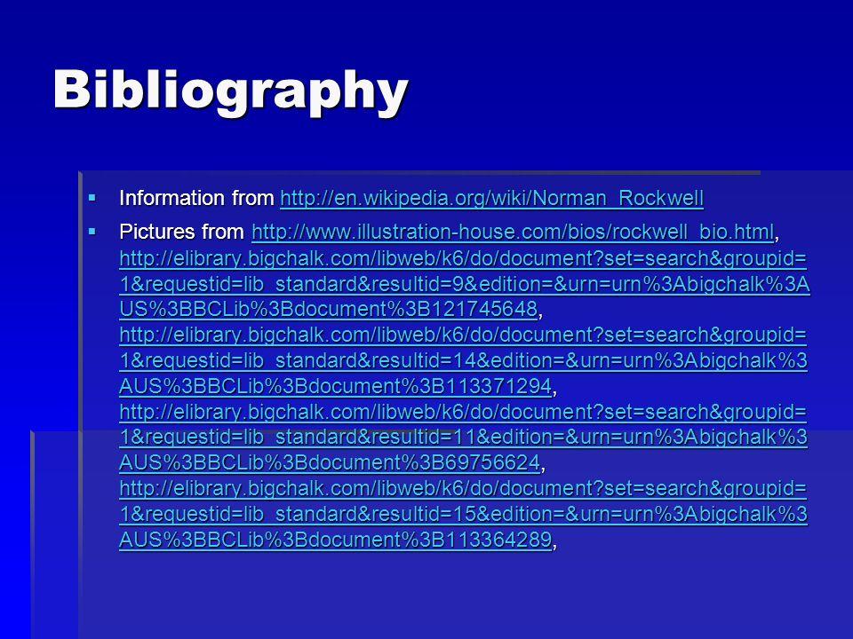 Bibliography Information from h h h h h tttt tttt pppp :::: //// //// eeee nnnn....