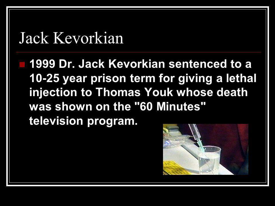 Jack Kevorkian 1999 Dr.