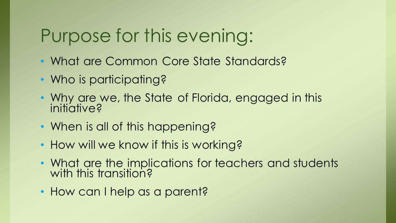What are Common Core State Standards. Who is participating.