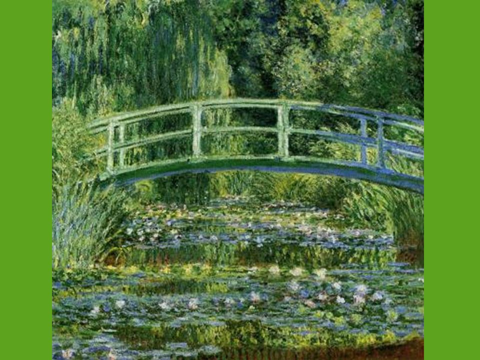 The Water Lilly Pond By Claude Monet