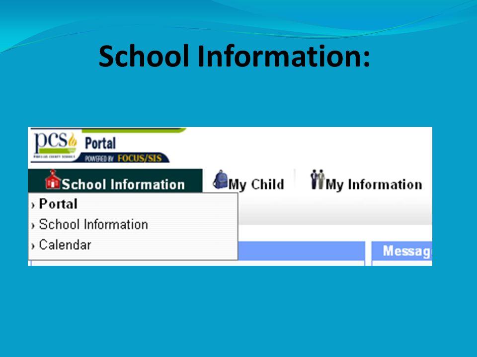 School Information: