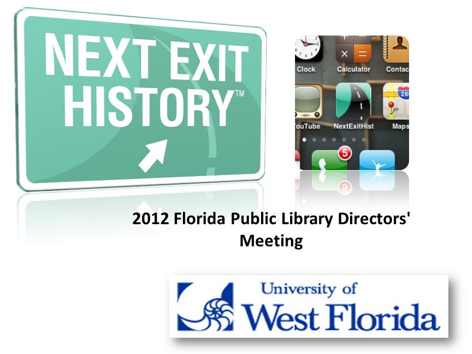 2012 Florida Public Library Directors Meeting