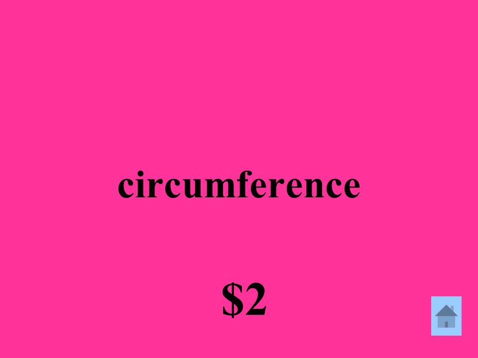 circumference $2
