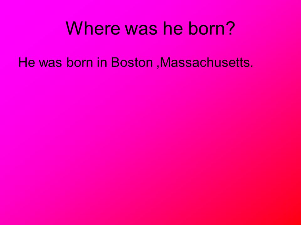 When did he live? He was born on September 22, 1722. He died on October 2, 1803.