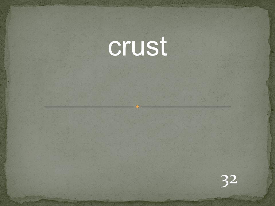 32 crust