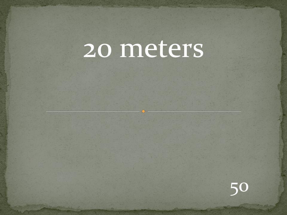50 20 meters