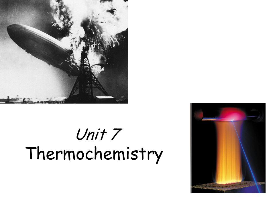 Thermochemistry Unit 7