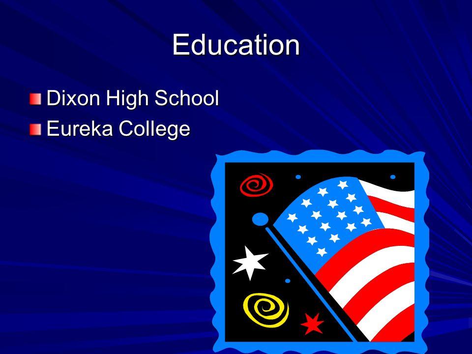 Education Dixon High School Eureka College
