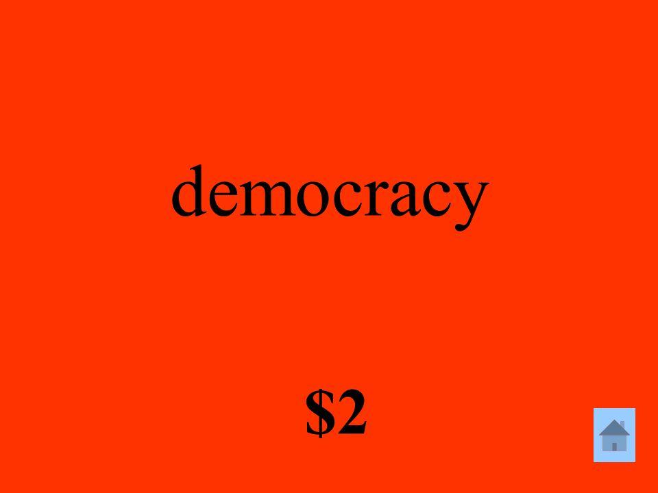 democracy $2