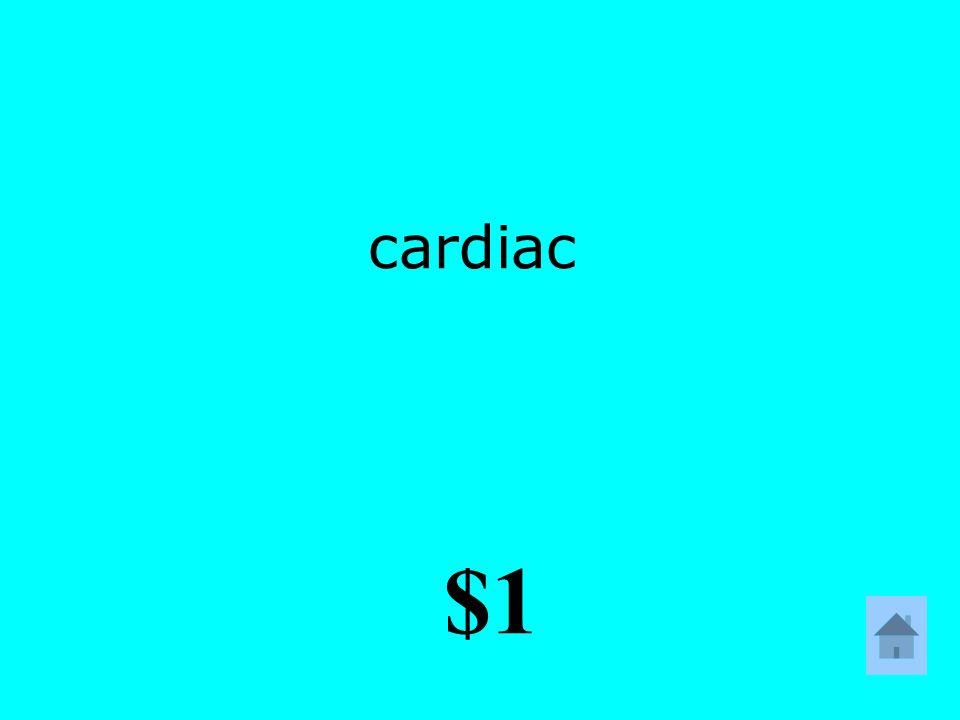 cardiac $1
