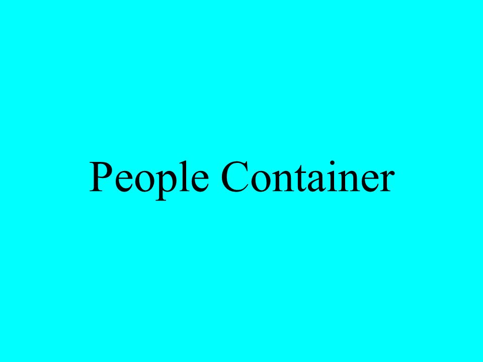 People Container