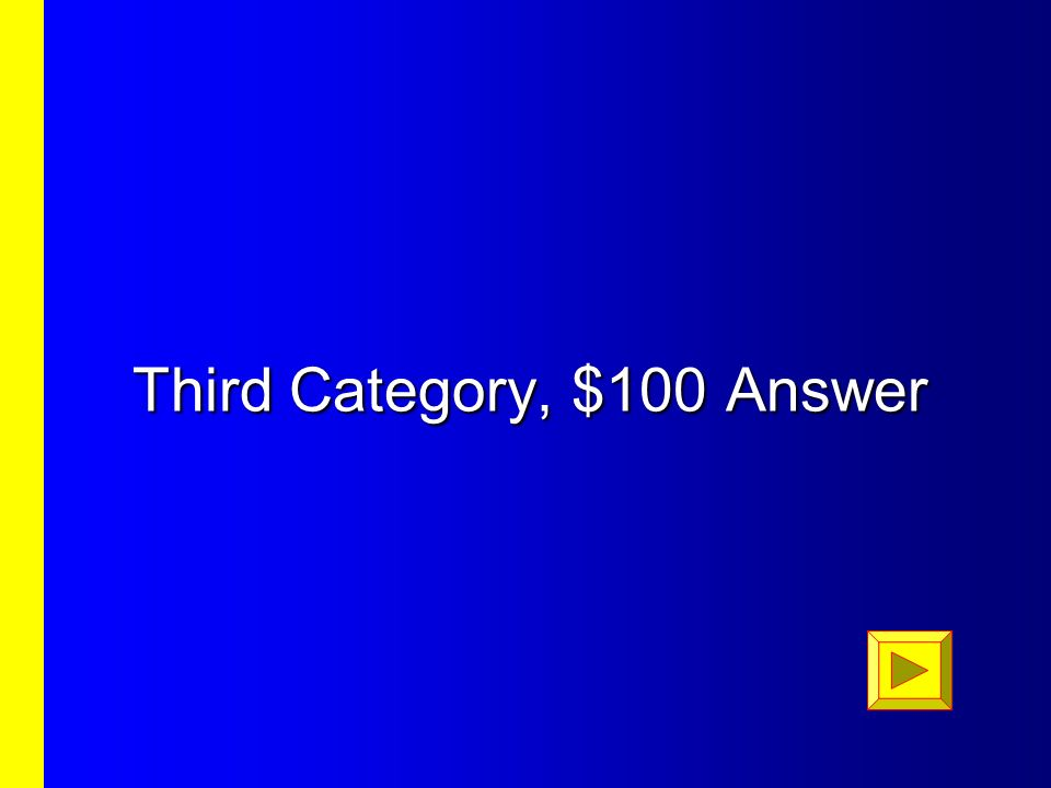 $500 Question $500
