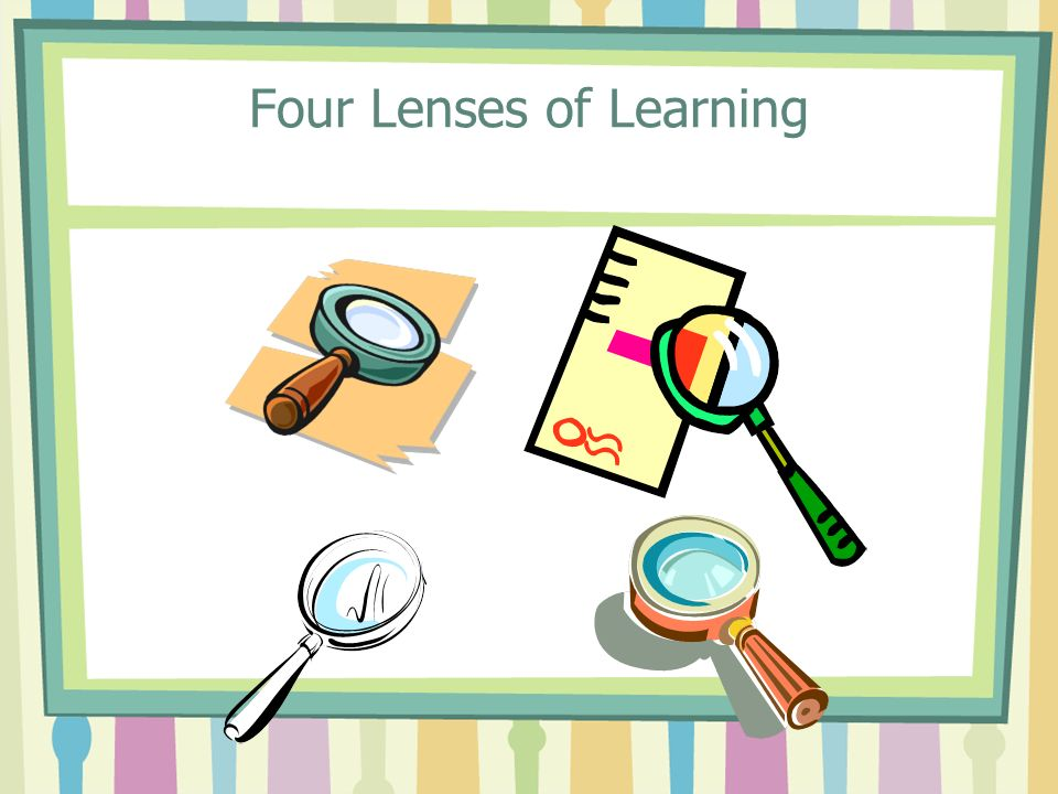 Four Lenses of Learning