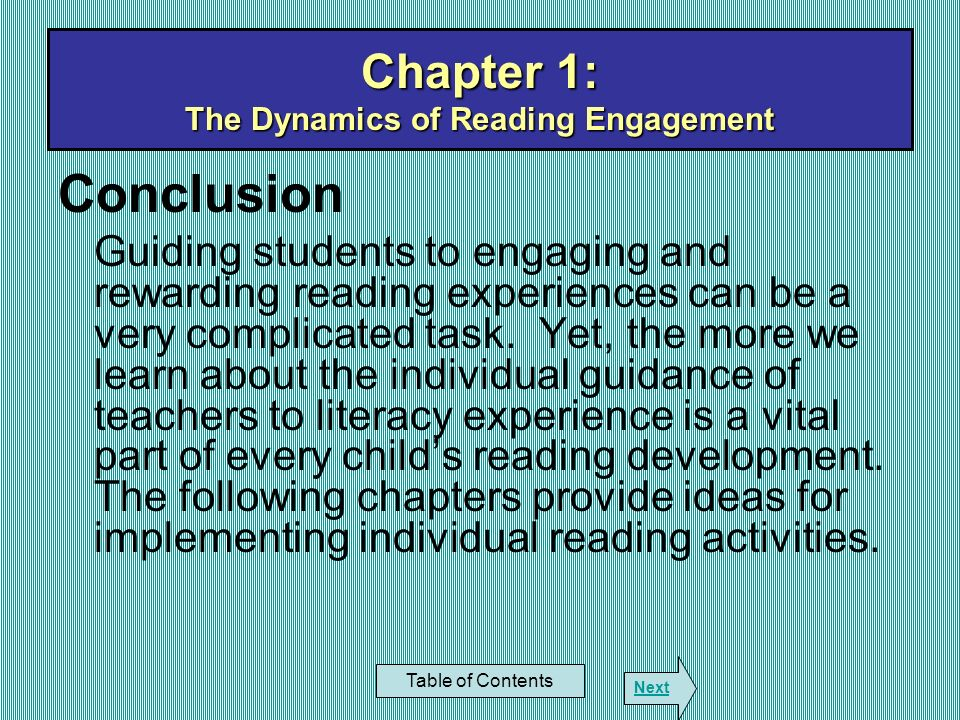 Chapter 6: Lexiles in Content Reading Table of Contents Next Introduction: With a recent shift in emphasis from fiction to expository text come additional challenges for the reader to overcome.