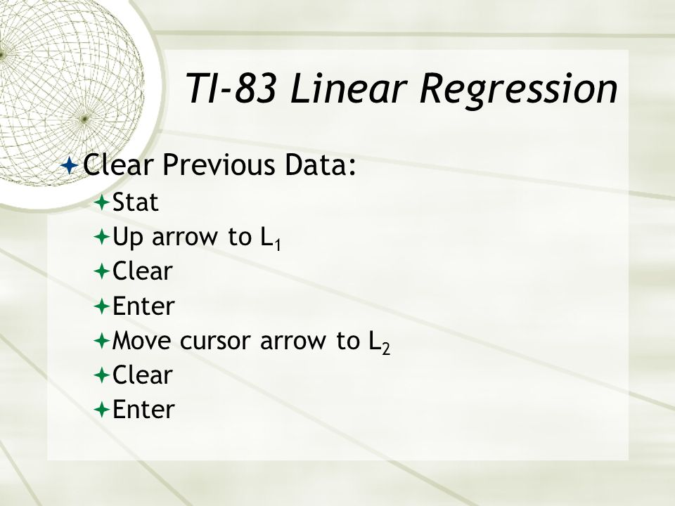 Linear Regression The goal of linear regression is to adjust the values of slope and intercept to find the line that best predicts Y from X. The slope