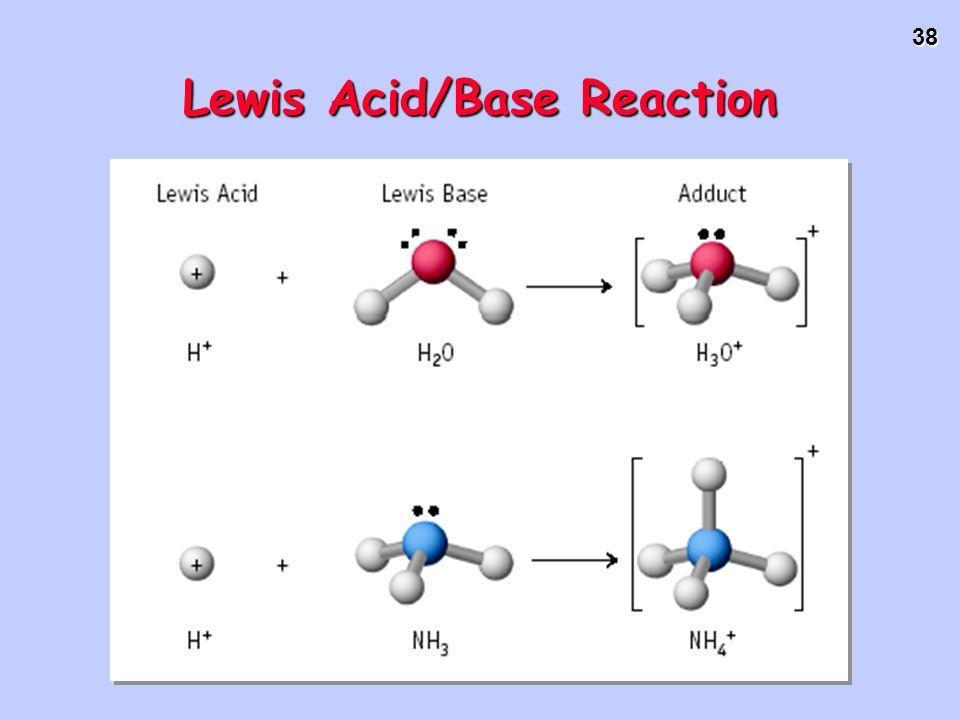 38 Lewis Acid/Base Reaction