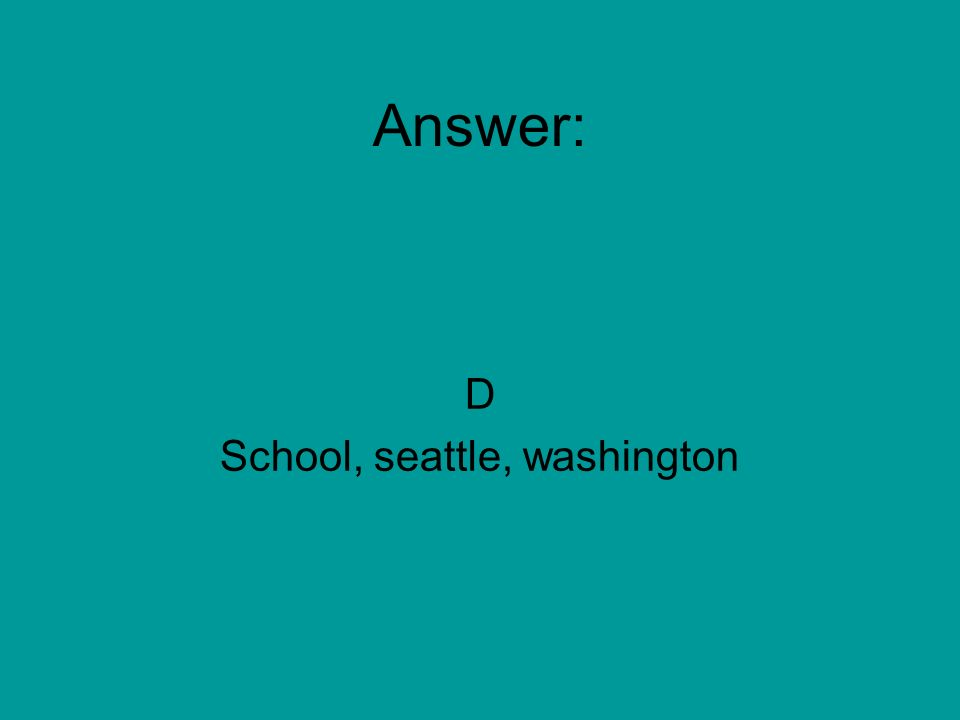 jeff attends kind middle school in seattle, washington this year.