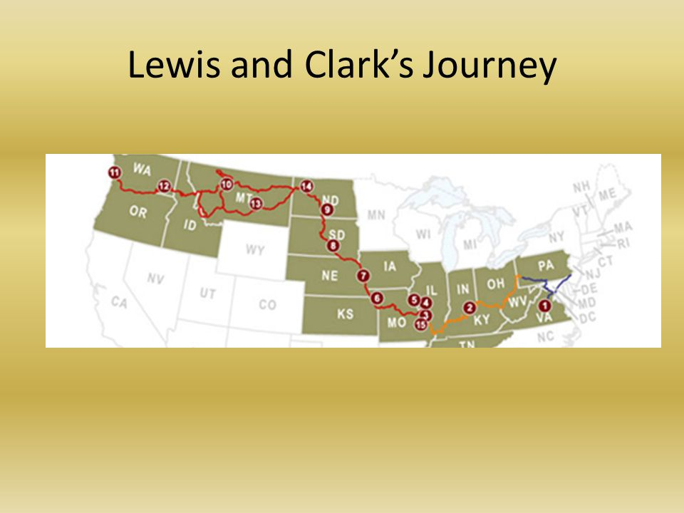 Lewis and Clarks Journey