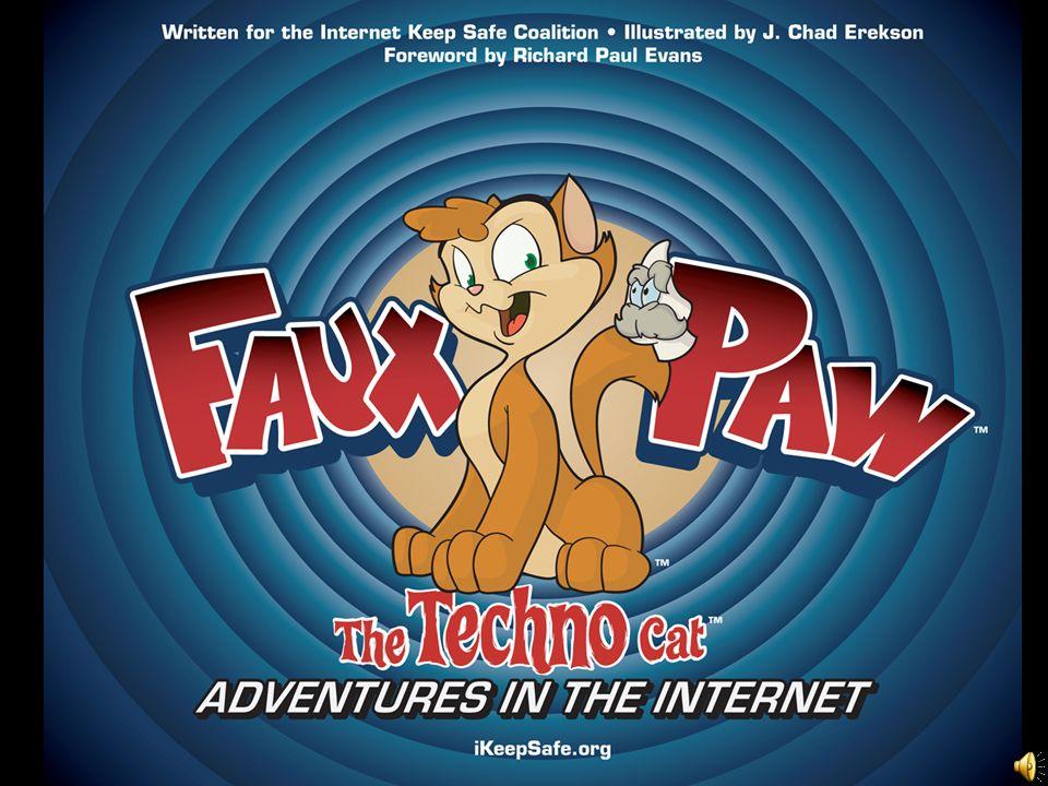 Hello, Im Faux Paw the Techno Cat.