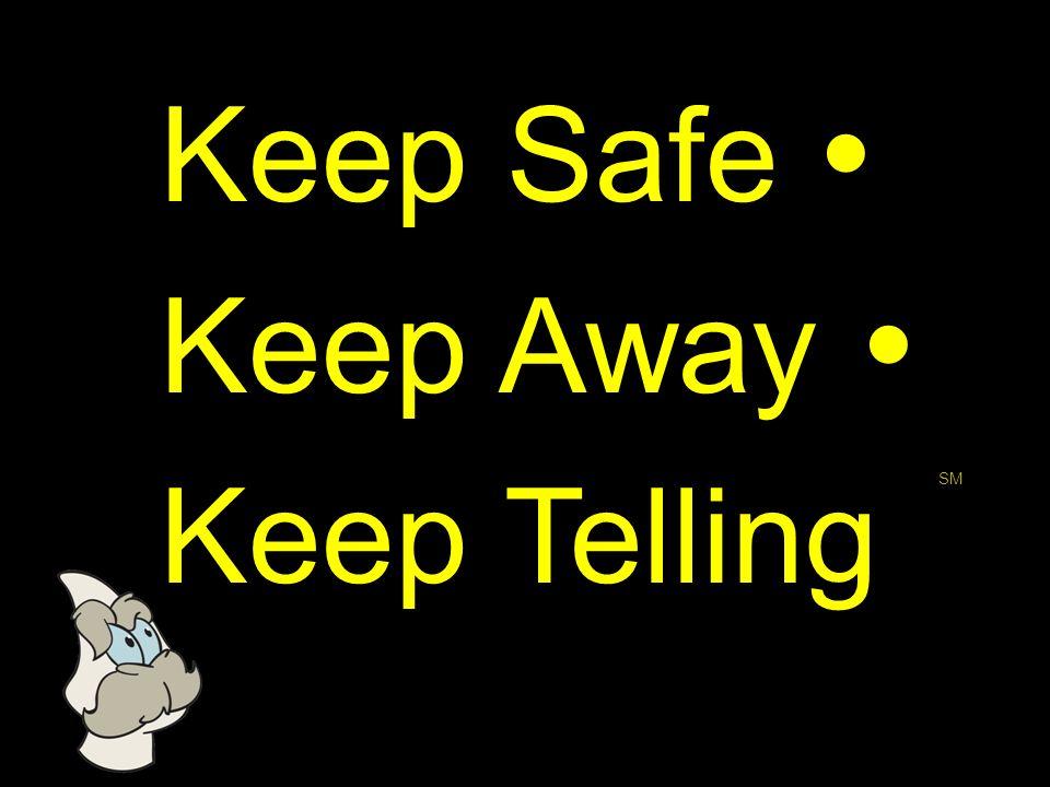 Keep Safe Keep Away Keep Telling SM