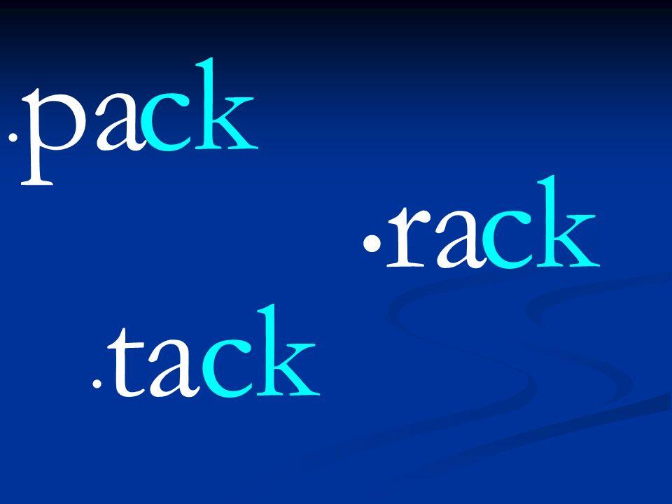 pack rack tack