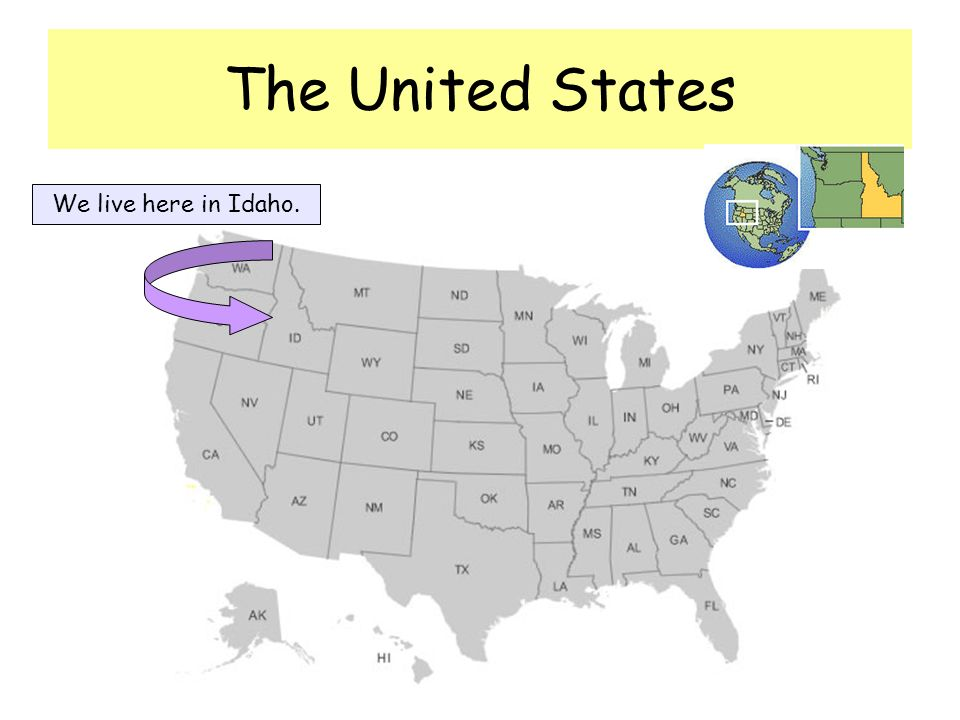 This is the shape of our state of Idaho.