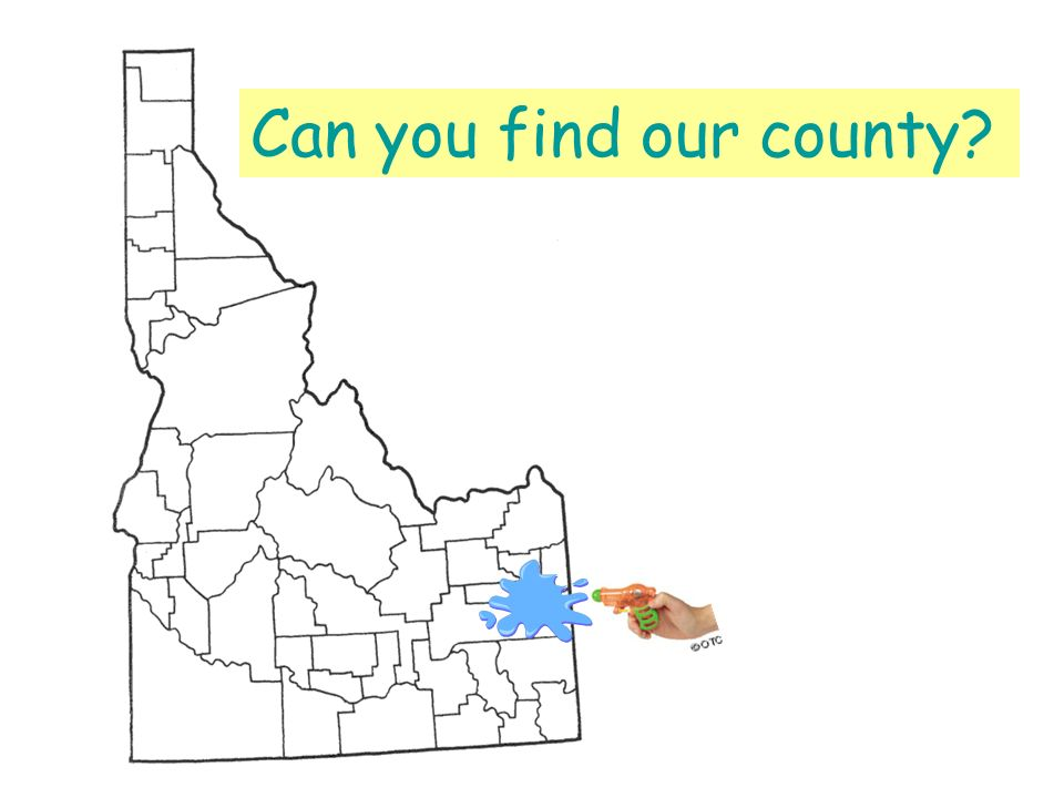 Can you find our county?