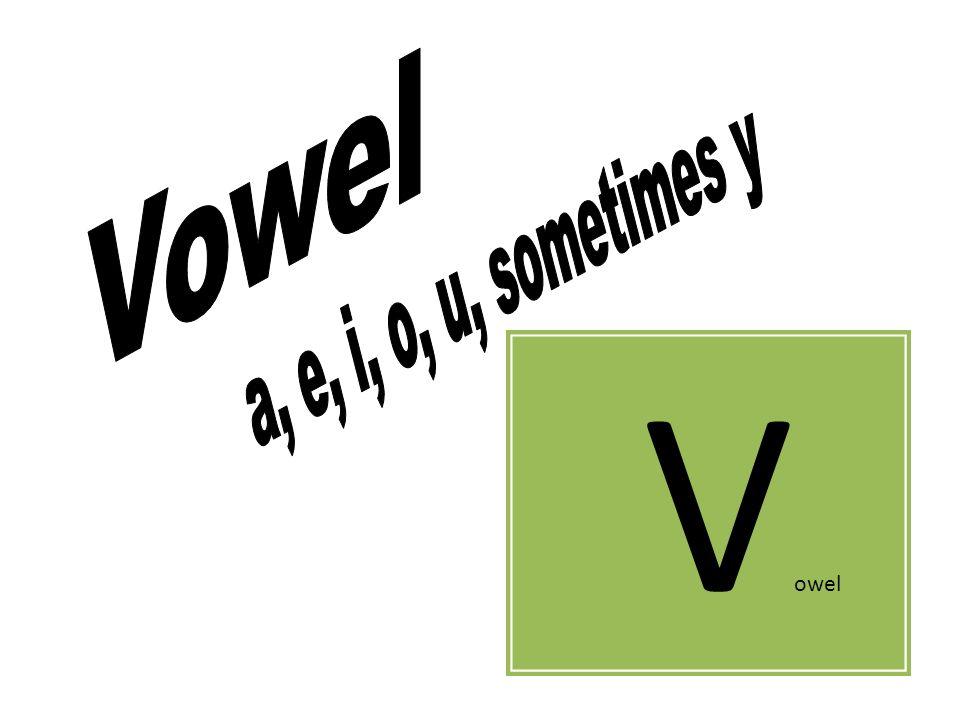 V owel