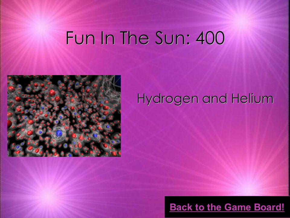 Fun In The Sun: 300 Strong magnetic fields Back to the Game Board!