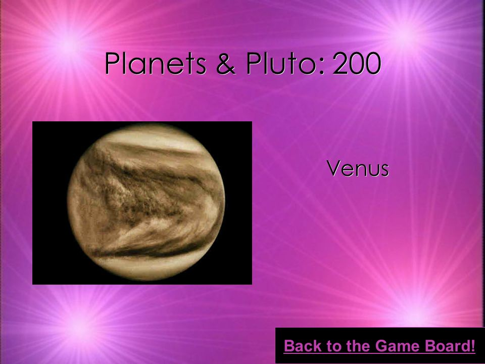 Planets & Pluto: 100 Jupiter Back to the Game Board!