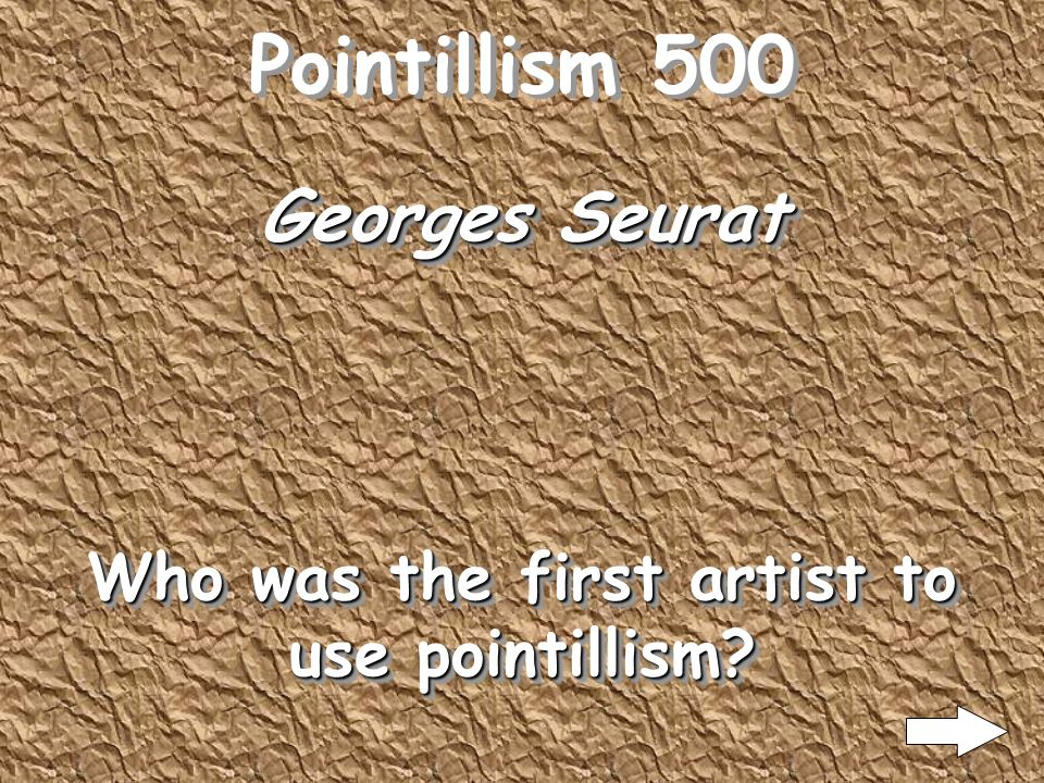 Pointillism 400 Art critics to ridicule the works of these artists The term pointillism was first coined by?