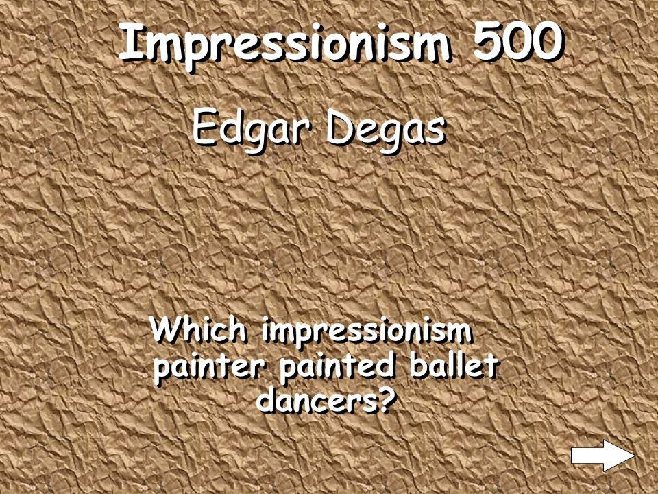 Impressionism 400 Landscapes What subject matter is most done in impressionism?