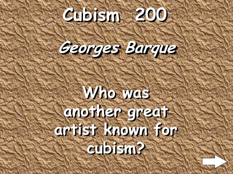 Cubism 100 Pablo Picasso Who was one of the great artist of cubism?