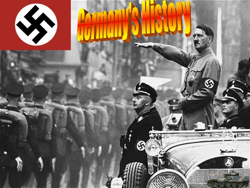 Wars: started both World War I and World War II. Tsunami Aid: Germany donated 25 Million dollars