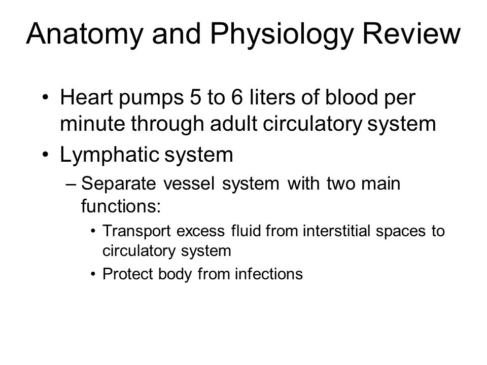 Acquired Hemolytic Anemia Destruction of red blood cells releasing iron and Hgb Symptoms: –Mild fatigue, pallor, jaundice, palpitations, hypotension, dyspnea, and back and joint pain (continued)
