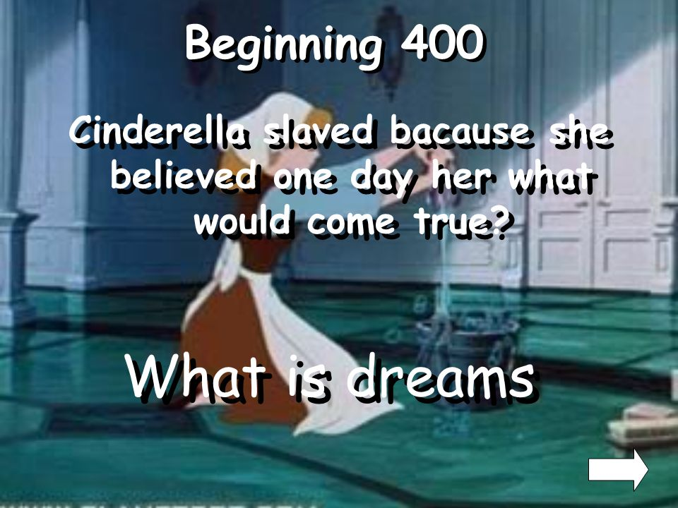 Beginning 300 Who were Cinderellas only friends Who were the mice and birds