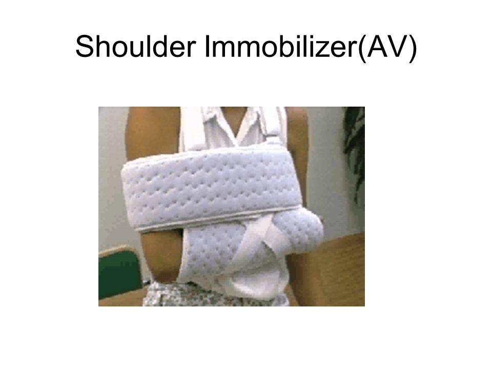 Applying an emergency splint 5.