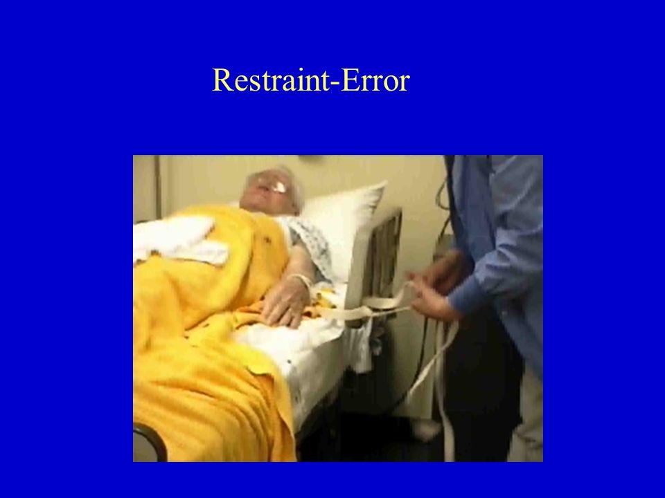 Restraint-Error