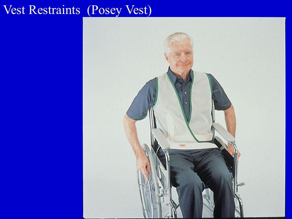 Vest Restraints (Posey Vest)