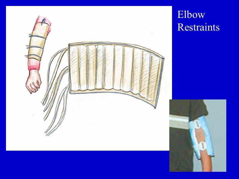 Elbow Restraints
