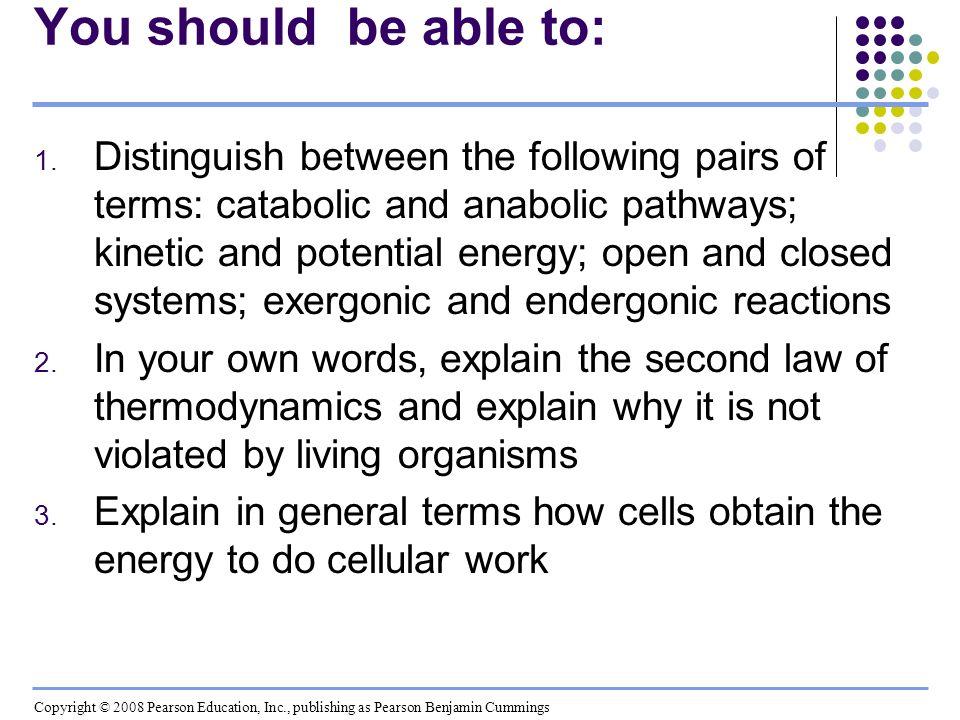 4.Explain how ATP performs cellular work 5.